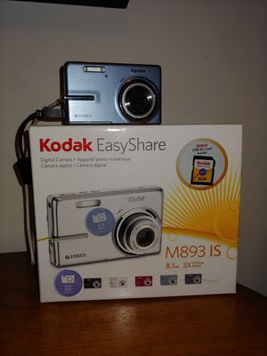 Kodak camera M893 IS 8.1 MP -SD card included for Sale in Denver, PA