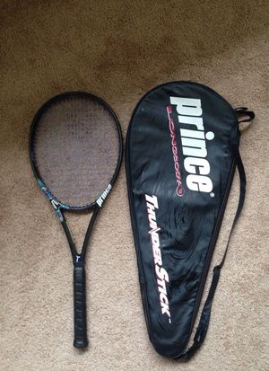 Tennis Racket - Prince Thunderstick with cover (good condition) for Sale in Chesterfield, VA