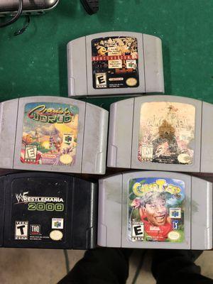 Nintendo 64 games for Sale in Los Angeles, CA