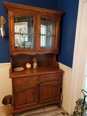 Dining room table and chairs, china cabinet for Sale in Tennille, GA