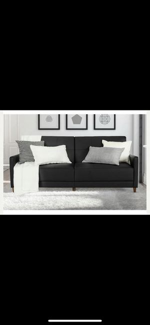 Black sofa / futon for Sale in New York, NY