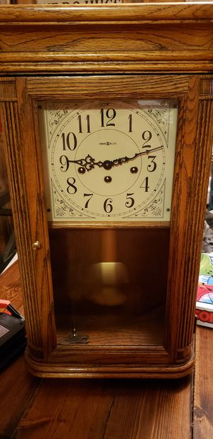 Howard miller wall clock for Sale in Central, SC