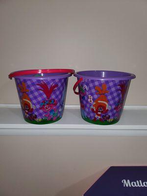 Trolls buckets for Sale in Bensenville, IL