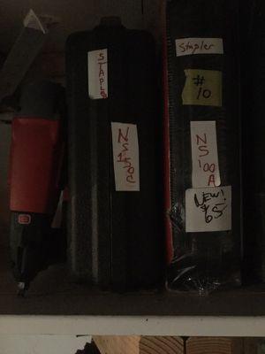 3 air nailstsplers nailgun for Sale in Los Angeles, CA