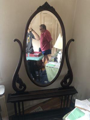 Antique Mirror/Mirror Stand for Sale in Alexandria, VA