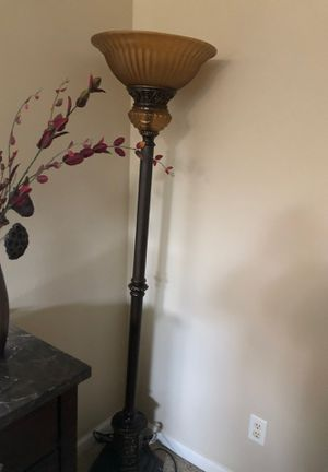 Never used heavy material beautiful lamp for Sale in Fresno, CA
