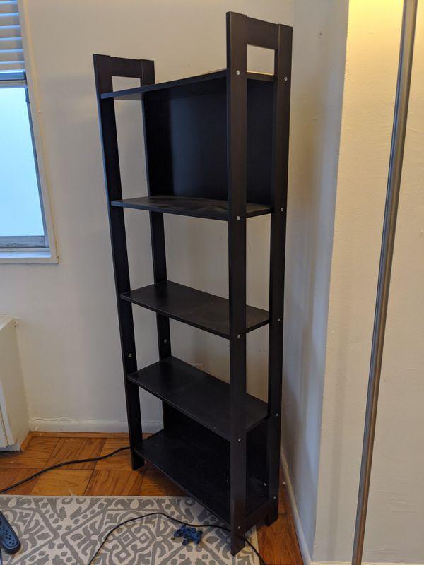 Black book shelf