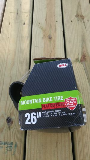 "26"" mountain bike tire made by bell for Sale in Falls Church, VA"