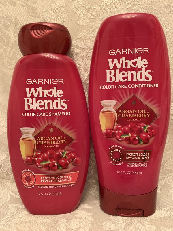 8 Garnier Whole Blends Shampoo and Conditioner
