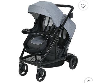 Graco Uno2Duo double stroller (Hayden Gray) for Sale in Chula Vista, CA
