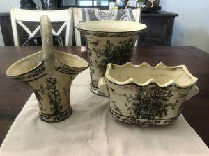 Set of 3 Vases for Sale in Orlando, FL
