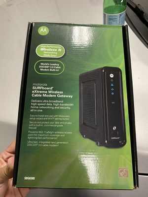 Motorola SURFboard extreme wireless cable modem/router for Sale in Chula Vista, CA