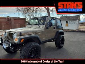 2004 Jeep Wrangler for Sale in Westminster, CO