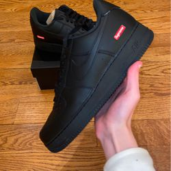 Supreme AF1 Black - Brand New DS OG all! With Box And Extra Laces for Sale in Cockeysville,  MD