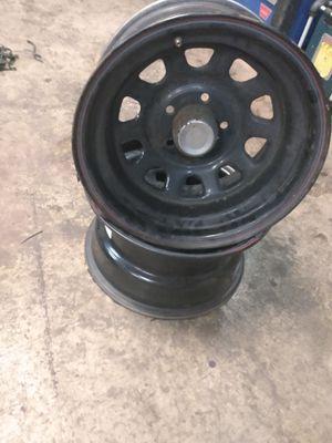 15x8 Jeep wheels for Sale in Chehalis, WA