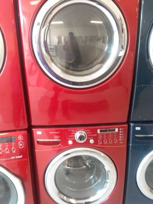 Lg washer and dryer used good condition 90days warranty 🔥🔥 for Sale in Mount Rainier, MD