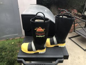 Thorogood Fire Hellfire Rubber 807-6003 Men's Insulated Felt Lined/Lug Sole Boot Like New. for Sale in Cerritos, CA