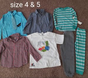 Lot of clothes boys size 4T for Sale in Phoenix, AZ