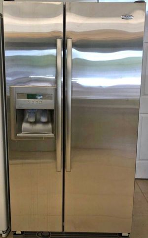 FREE DELIVERY! Whirlpool Refrigerator Fridge Side by Side First come first serve #993 for Sale in Ontario, CA