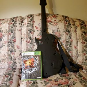 Xbox360 Guitar Hero Bundle for Sale in Lanham, MD