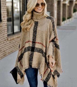 Turtle Neck Sweater Poncho for Sale in Wichita Falls, TX