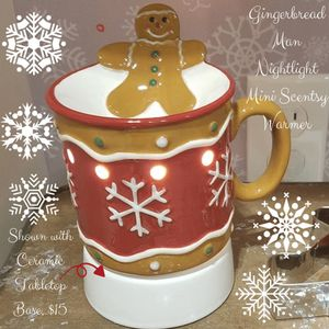 Scentsy Mini Gingerbread Warmer -Sold out- for Sale in Alpha, IL