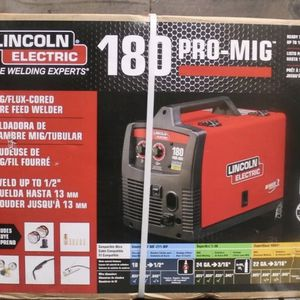 Lincoln Electric 180 Pro Mig Welder for Sale in Tacoma, WA