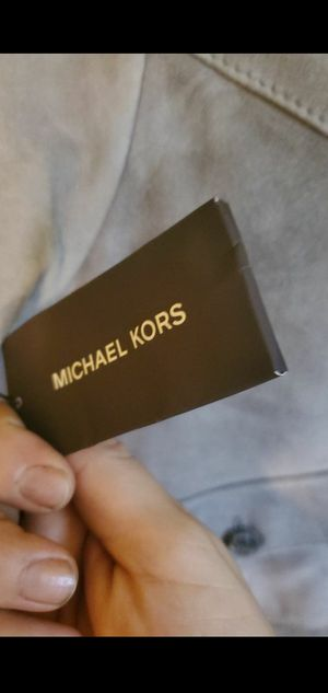 Michael Kors jacket 100% lamb leather for Sale in Pico Rivera, CA