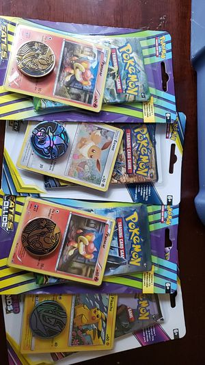 Pokemon trading cards and coin for Sale in Dallas, TX