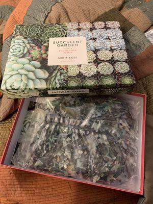 Succulent Garden Puzzle for Sale in Phoenix, AZ