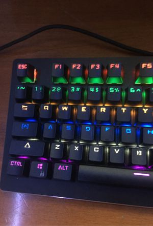 Blackweb keyboard with razor mouse and Logitech mouse for Sale in Fort Worth, TX