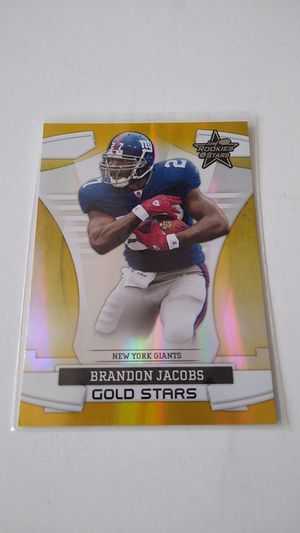 2008 Rookies & Stars #GS-4 Brandon Jacobs New York Giants #'d/100 for Sale in Bremerton, WA
