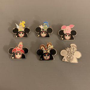 Walt Disney World Resort 2015 Hidden Mickey Pins - Character Ear Hats set for Sale in Kissimmee, FL