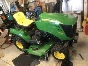 John Deere 1023e Tractor Only 28 Hours! - Diesel - Lots of extras! for Sale in New Baltimore, MI