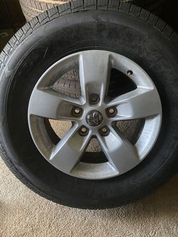 Stock Wheels and Tires Ram 1500 LT265/70R17 for Sale in Taylor,  MI