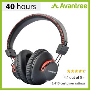 Avantree 40 hr Wireless Wired Bluetooth Over Ear Headphones for Sale in Olney, MD
