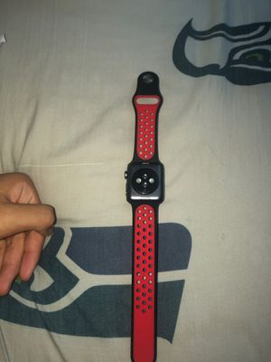 Red/Black 38/40mm Apple Watch Band for Sale in Lacey, WA