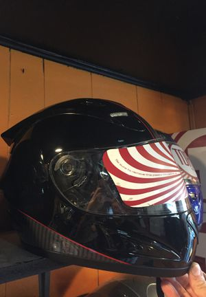 New black and red motorcycle helmet $90 for Sale in Whittier, CA