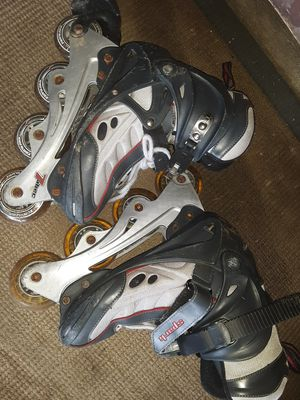 Gently used rollerblades, shoes, and clothing for Sale in Streetsboro, OH