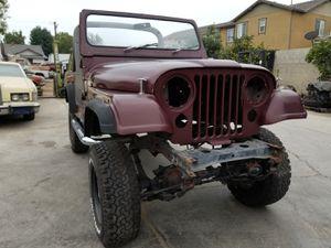 Jeep cj7 rolling body, parts project for Sale in La Habra, CA