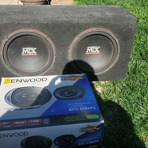 Kenwood speakers With MTX subwoofer. for Sale in Tijuana, MX