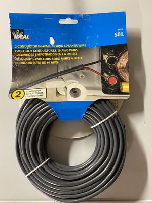 New In wall speaker cable 50 ft for Sale in Seattle, WA