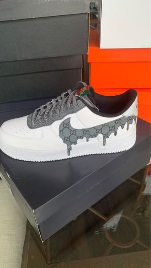 Gucci Drip Air Force 1 07 LV8 4 - Size 12 for Sale in Bellevue, WA