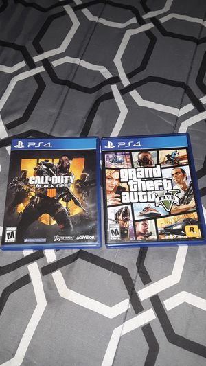 Ps4 games for Sale in Cutler, CA