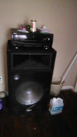 2acoustic audio speakers and 1 torchwood 400 watt home theater receiver plr85 all for sale for $500 for Sale in Fort Wayne, IN