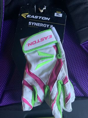 Easton Batting Gloves Softball for Sale in Plantation, FL