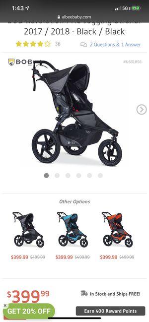 Bob revolution pro jogging stroller for Sale in Atlanta, GA