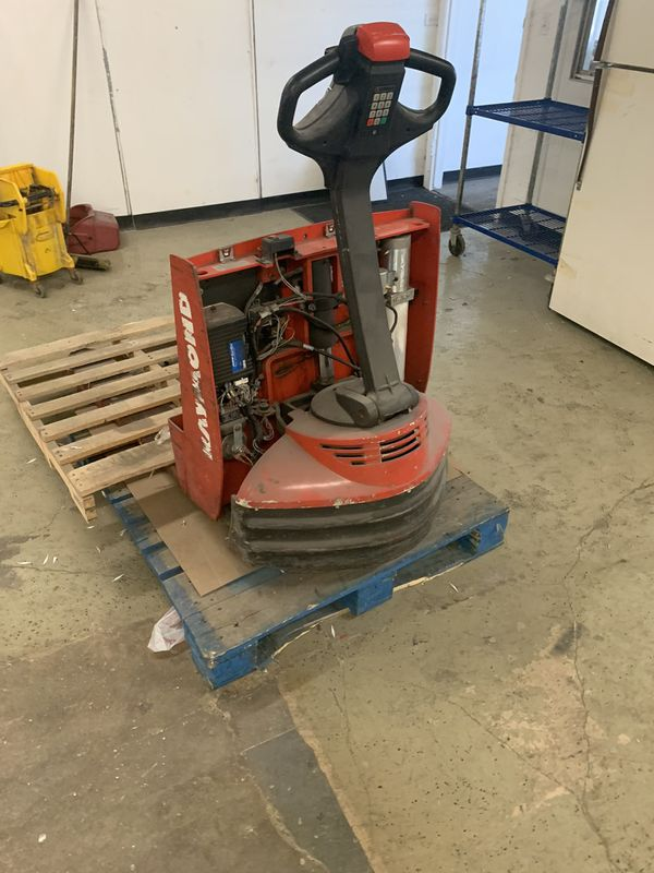 Pallet forklift no working