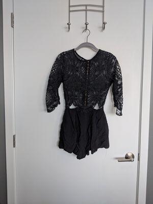 Black lace romper for Sale in Denver, CO