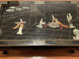Oriental Clawfoot Coffee Table for Sale in Queens,  NY